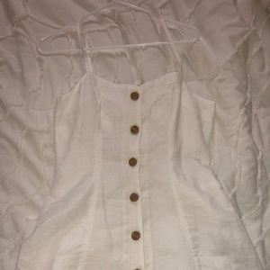 Urban Outfitters Dresses - Urban Outfitters Button-Down Linen Dress